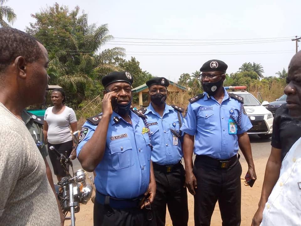Anambra Police Commissioner visits scene of attack on police patrol teams
