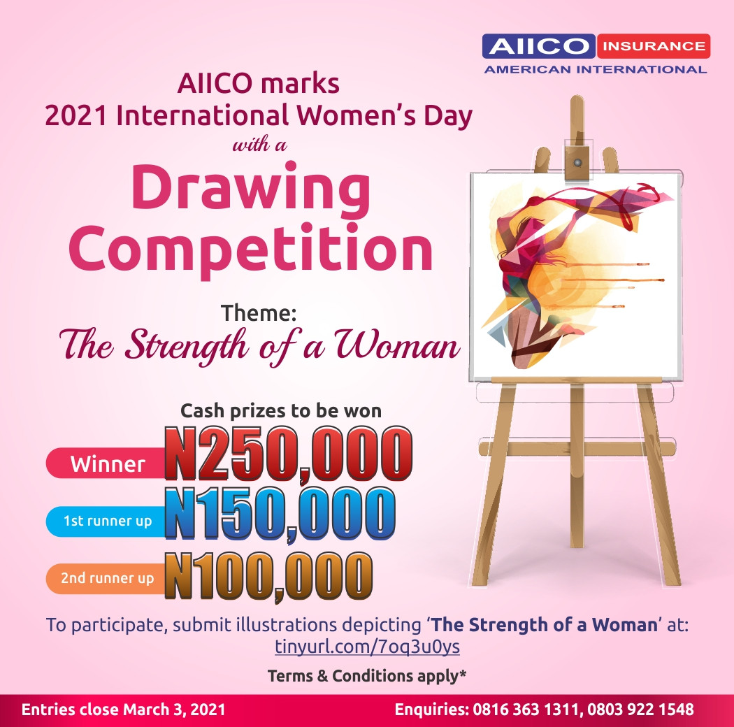 AIICO Insurance Plc Marks International Women?s Day with a Drawing Competition