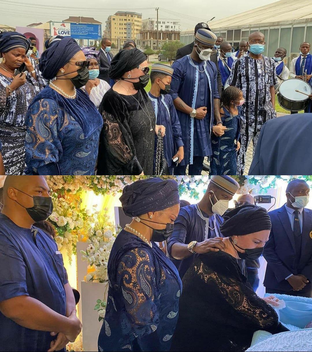 Tears flow as Peter Okoye