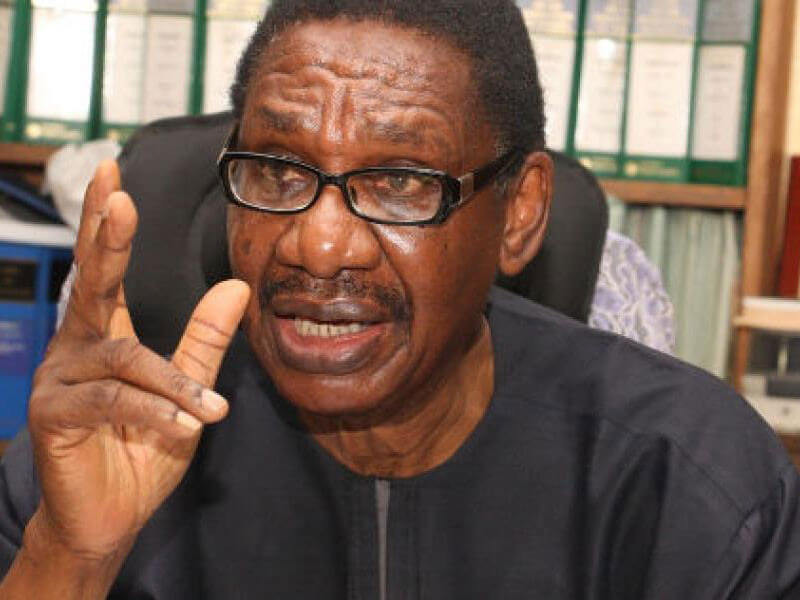 Chairman of the EFCC and EFCC are supposed to be independent, but the AGF who is a politician will always interfere - Sagay faults confirmation of Bawa