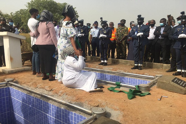 Bodies of seven NAF personnel who died in Abuja crash laid to rest (photos)