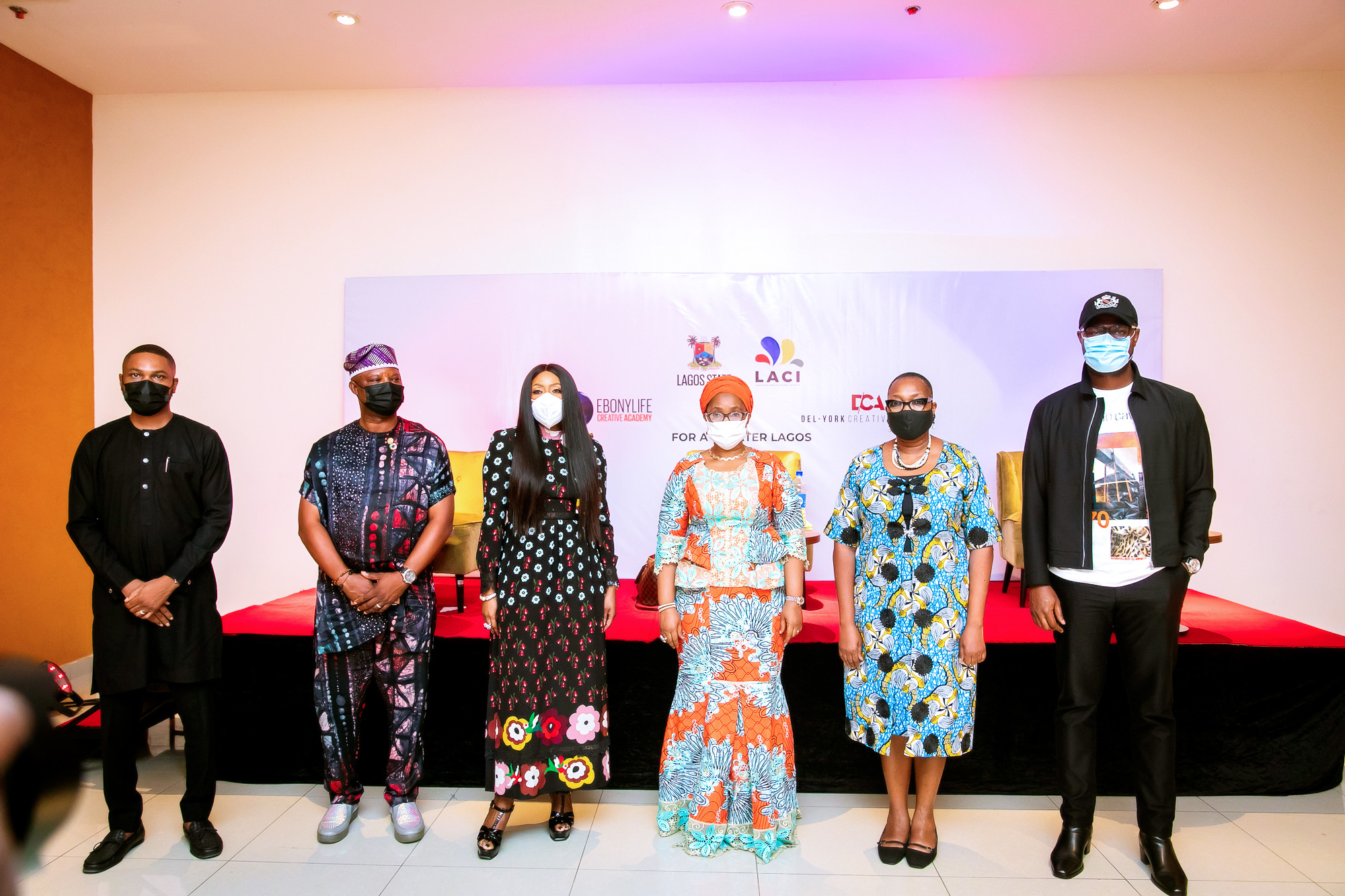Commissioner for Tourism, Arts & Culture launches initiative in partnership with Del-York Creative Academy and Ebonylife to provide practitioners in the Lagos Creative Industry with world-class skills