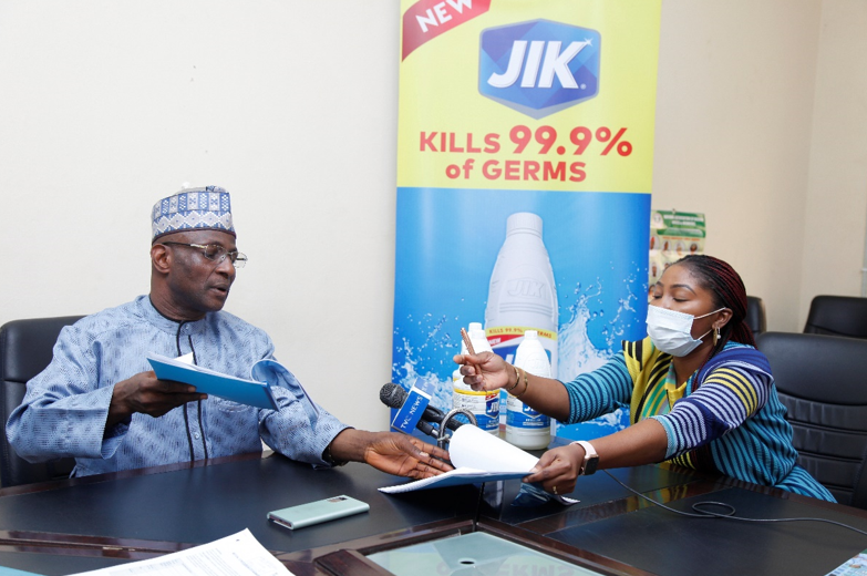JIK Endorsed by the National Association of Nigeria Nurses and Midwives to Promote Good Hygiene