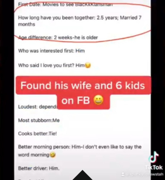 Woman discovers her Tinder match is married so she confronts him with the truth by offering to invite his wife to their date