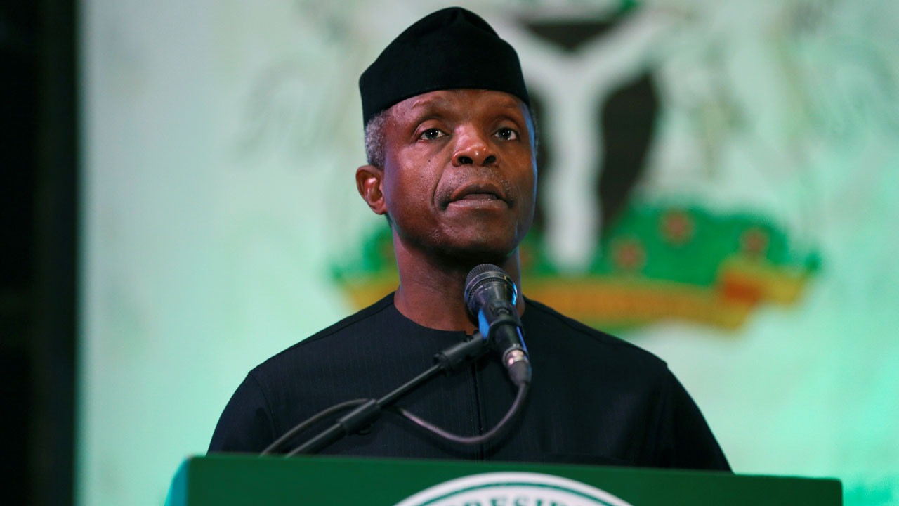 Address the concerns without killing the goose that might lay the golden egg - VP Osinbajo speaks against ban on Cryptocurrency (video)