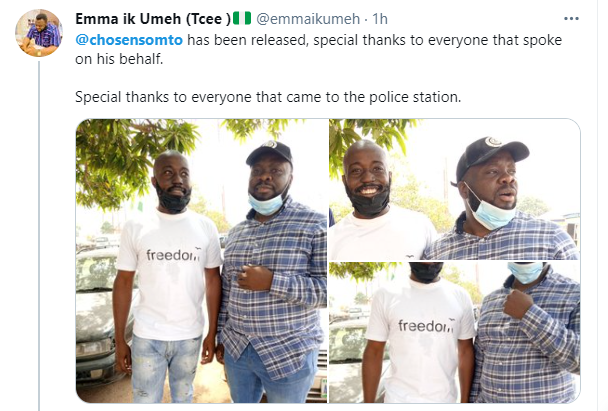 Top Buhari critic, Somto Onuchukwu