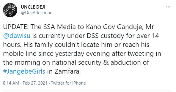 DSS reportedly arrests Governor Ganduje