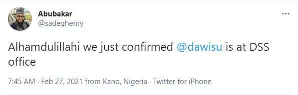 DSS denies arresting Kano gov media, Salihu Tanko-Yakassai aide