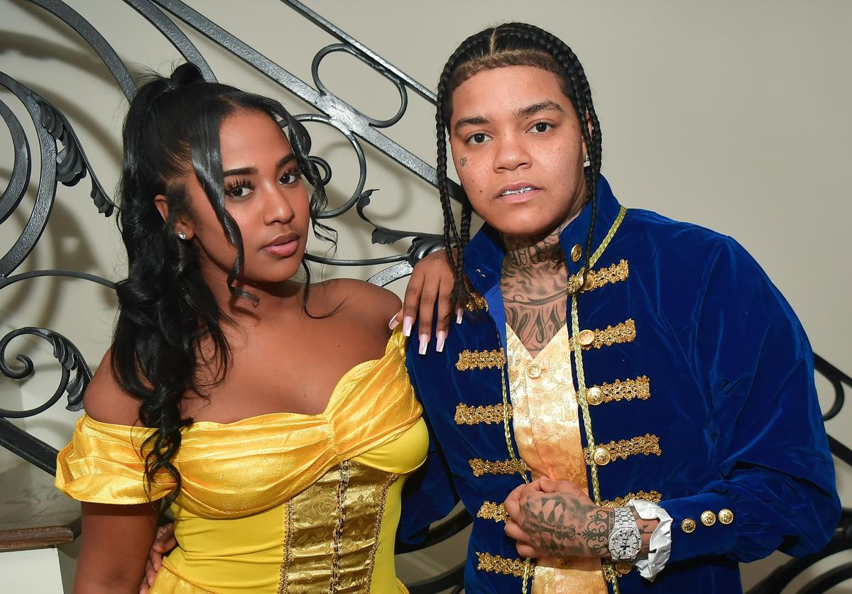 Davido spotted holding hands with rapper Young M.A?s ex,?Mya?Yafai, as they step out together in St. Maarten (Video)