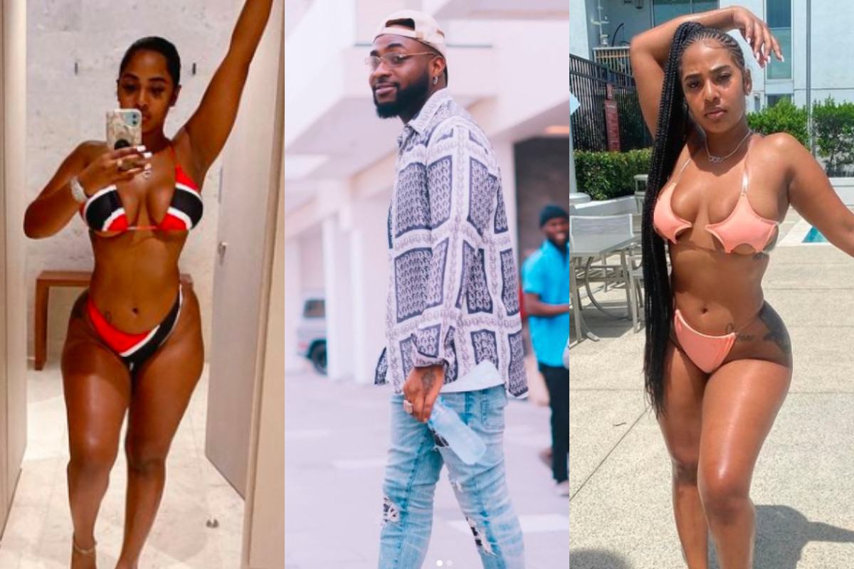 Mya Yafai, Young Ma?s ex-girlfriend and lady who Davido was spotted holding  hands with in United States visited him in Nigeria and Ghana (video)