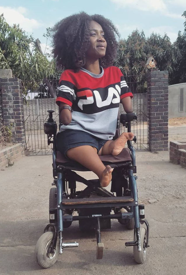 Zimbabwean motivational speaker born without limbs reveals she is pregnant, shares baby bump photos