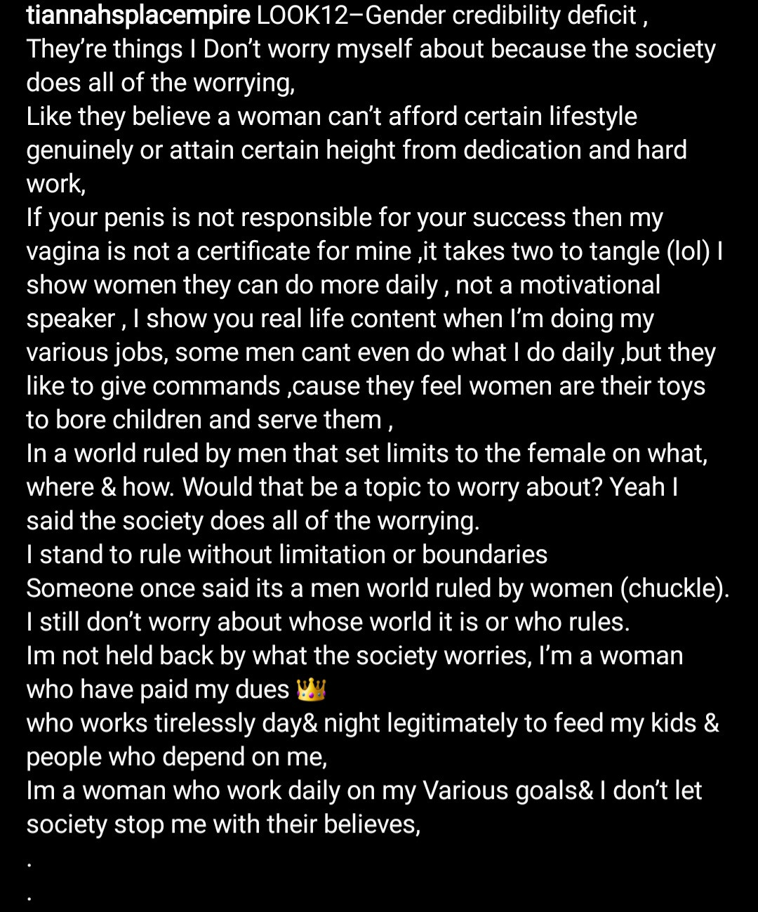 """""""If Your Penis Is Not Responsible For Your Succes Then My Vagina Is Not A Certificate For Mine"""" Toyin Lawani says as She Shares Photo Of Herself With Two Men In Chains"""