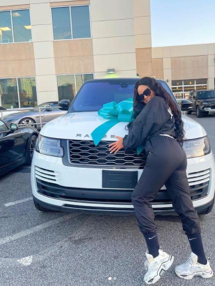 BBNaija?s Nina gets a Range Rover gift from her husband