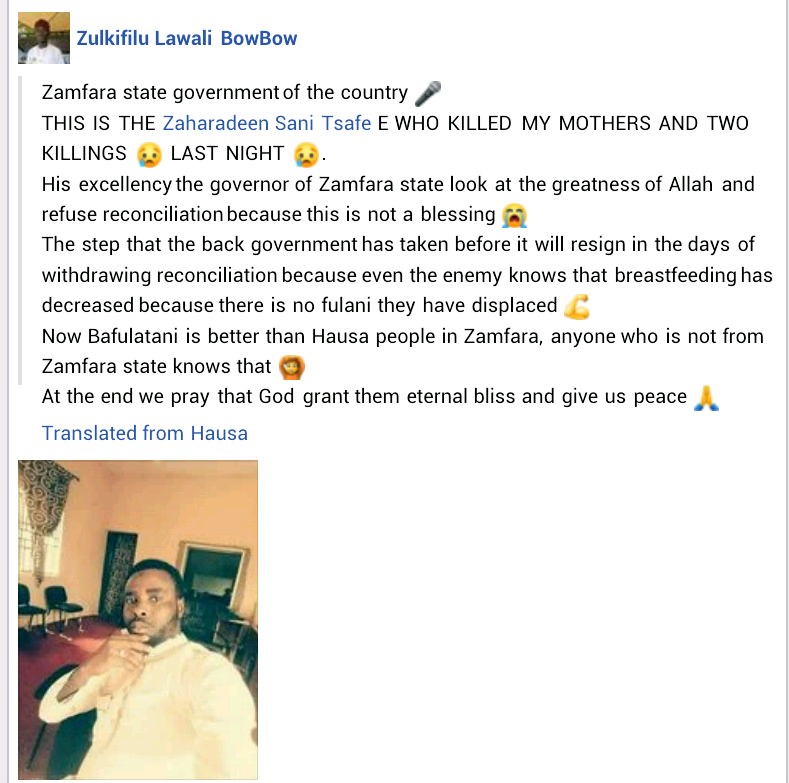 Armed bandits reportedly kill man and his two sons in Zamfara
