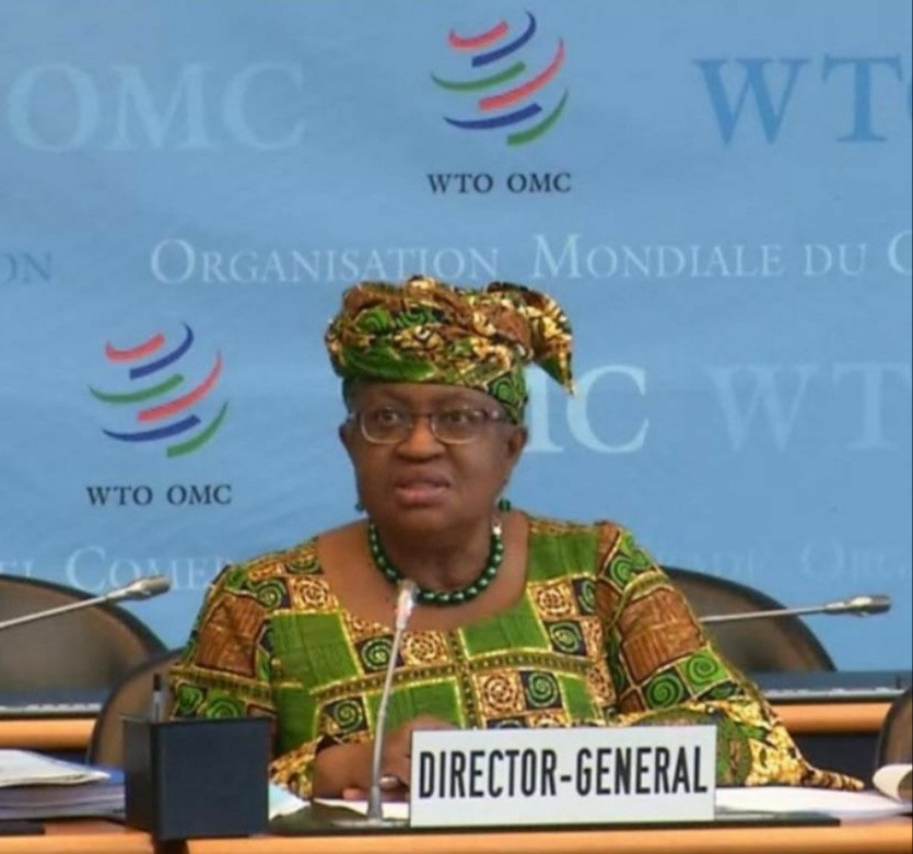 """Ngozi Okonjo Iweala reacts to apology from Swiss Newspaper that called her """"grandmother"""""""