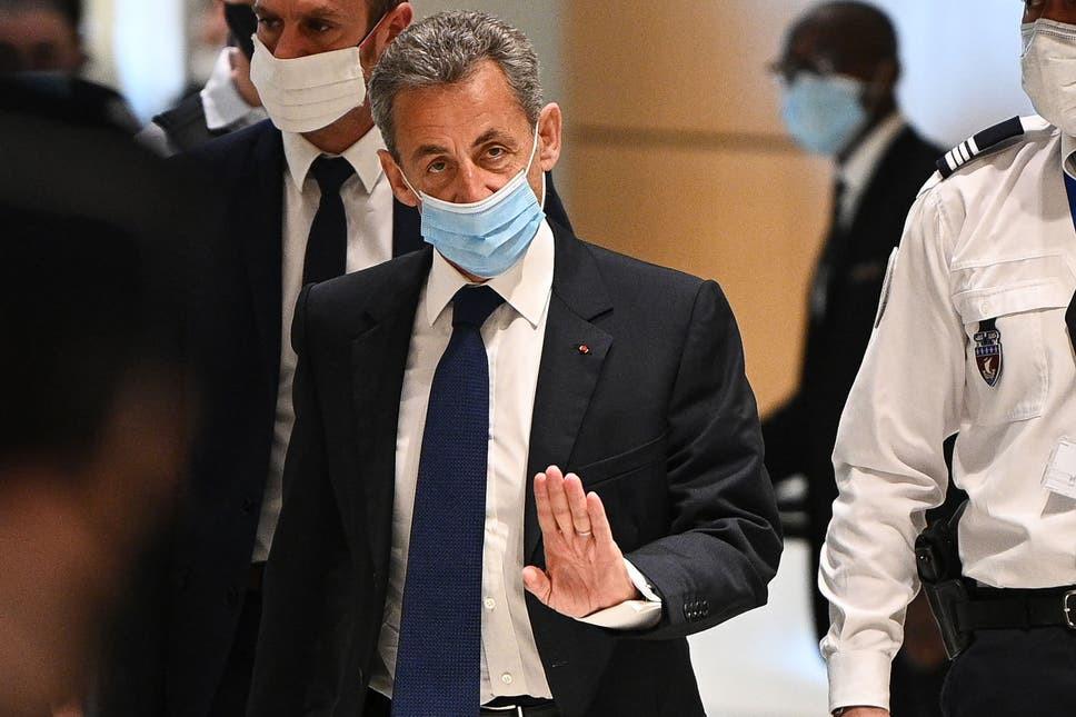 Former French president, Nicolas Sarkozy sentenced to jail for corruption