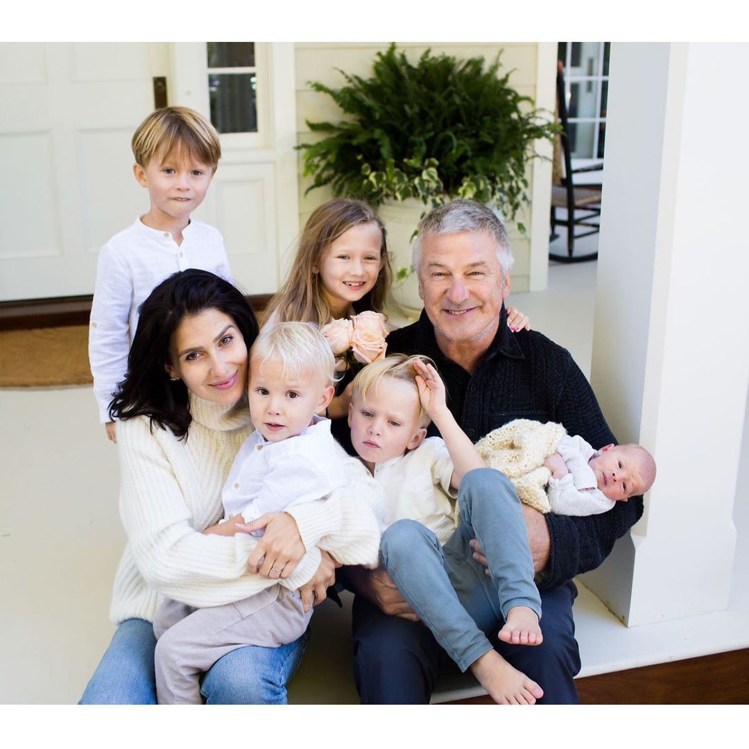 ?Alec Baldwin and wife Hilaria secretly welcome 6th child together less than six months after giving birth to fifth (photo)