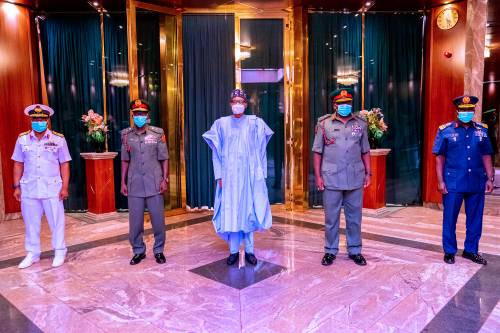 Senate confirms appointments of the new Service chiefs