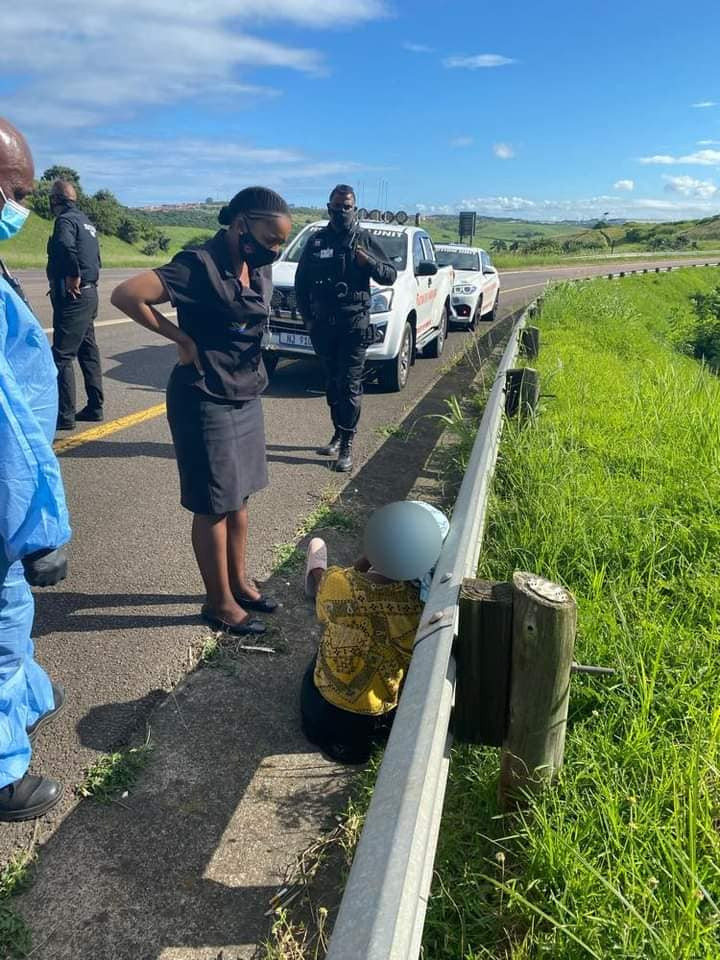 HIV positive woman raped at gunpoint by taxi driver and conductor in South Africa says she was afraid they would shoot her if she revealed her status