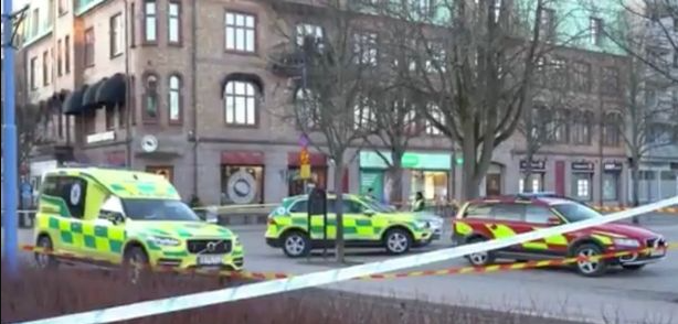Eight people stabbed after knifeman goes on rampage in Sweden