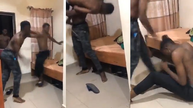 Babcock university react to viral video of a student assaulting another student over slippers