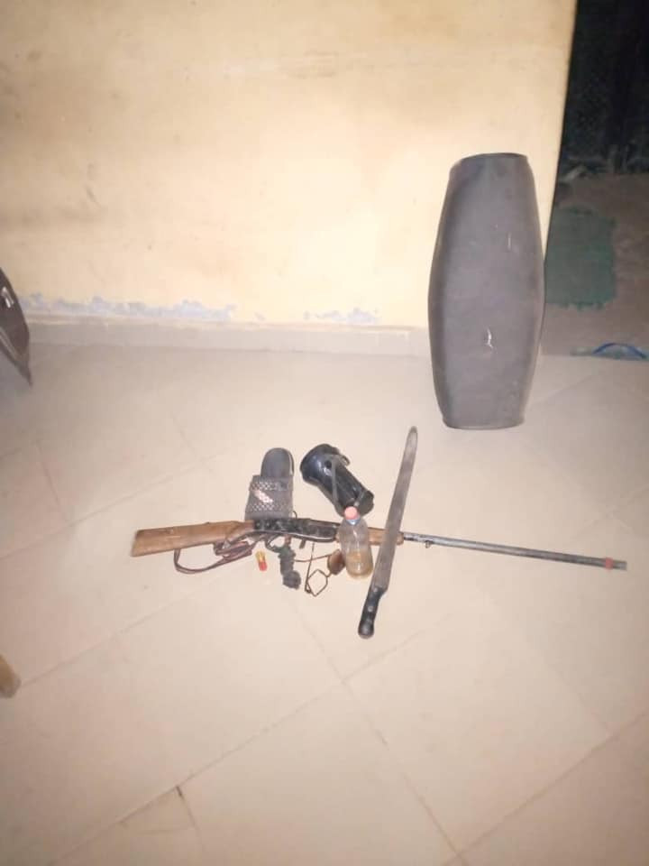 NSCDC parades suspect arrested over alleged attack on Fulani settlement in Ogbomoso