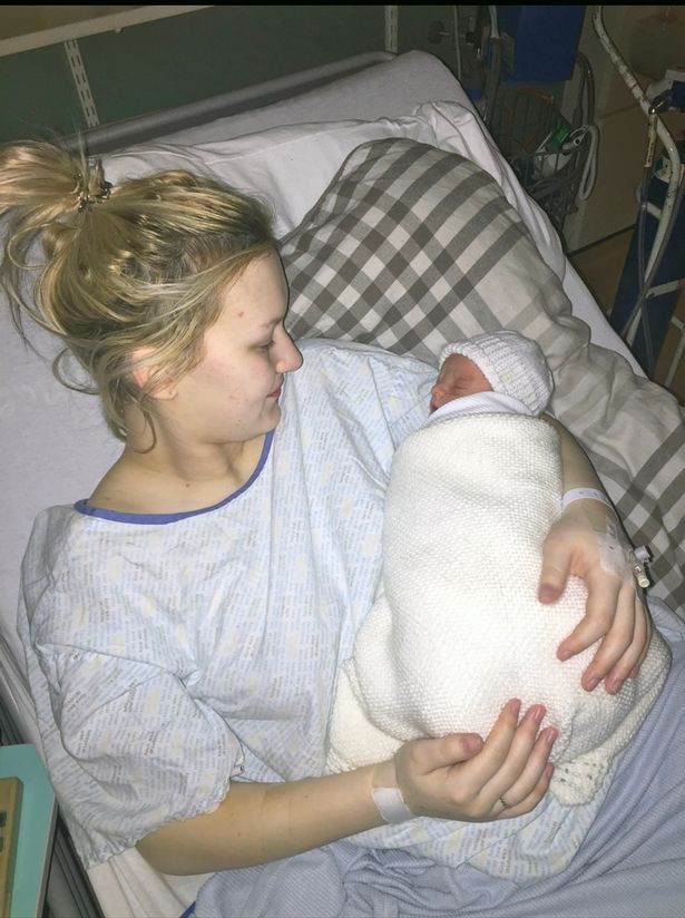 Teenager who had no pregnancy bump didn't know she was pregnant until she was in labour