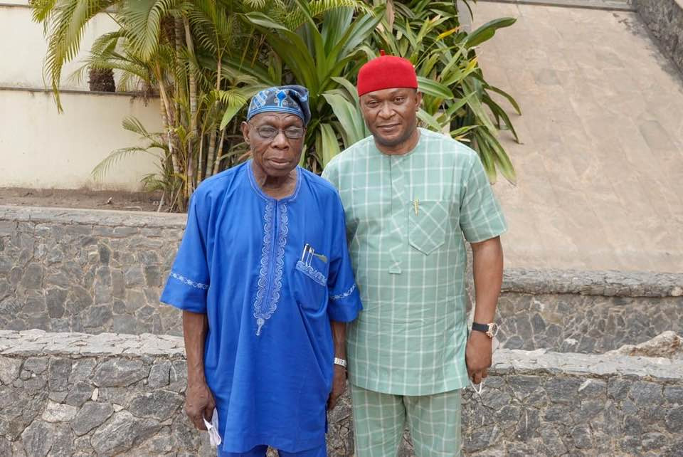 """There?s no iota of doubt that Obasanjo sleeps and wakes thinking about the stability and welfare of Nigeria"" -  Former Ebonyi lawmaker says"