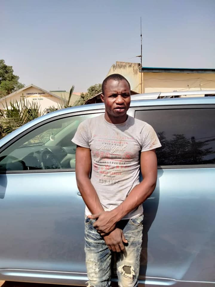 Notorious car snatcher nabbed in Nasarawa