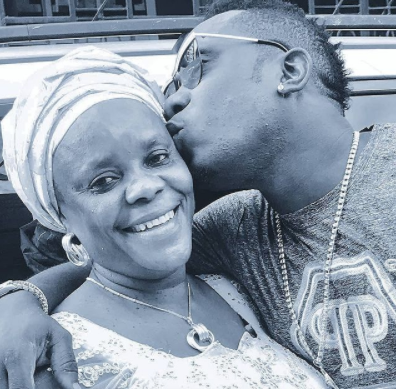 Carried me for 11months, went through labor for two weeks and bled for straight 18years- Duncan Mighty celebrates his mum as she turns 58