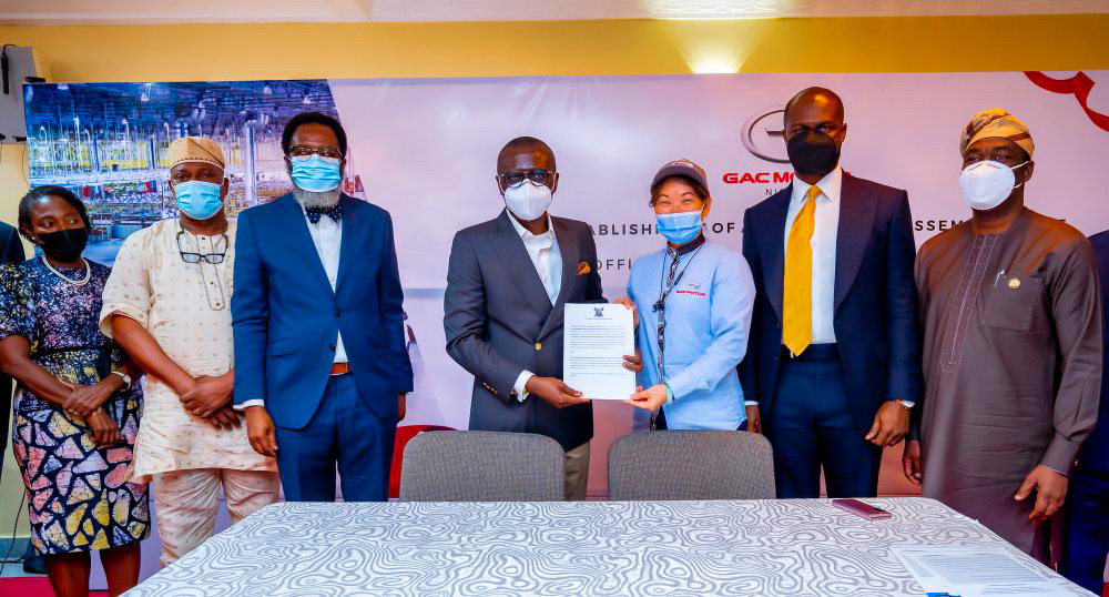 LASG Unveils Joint Venture with CIG Motors to Set Up A World Class Motor Vehicle Assembly Plant And Kick Start ?Lagos Ride? Taxi Scheme