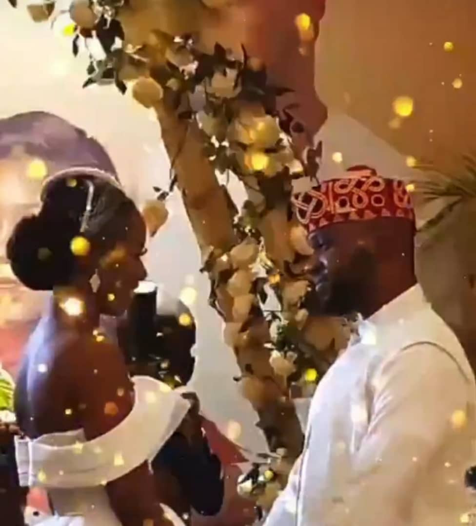 Media personality Debola Williams weds daughter of former Ogun state governor Gbenga Daniels (photos)