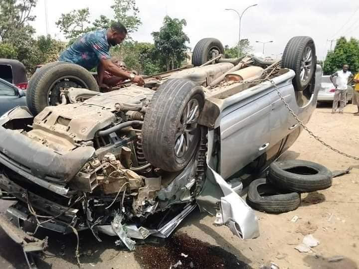 Akwa Ibom pastor survives ghastly motor accident without a scratch