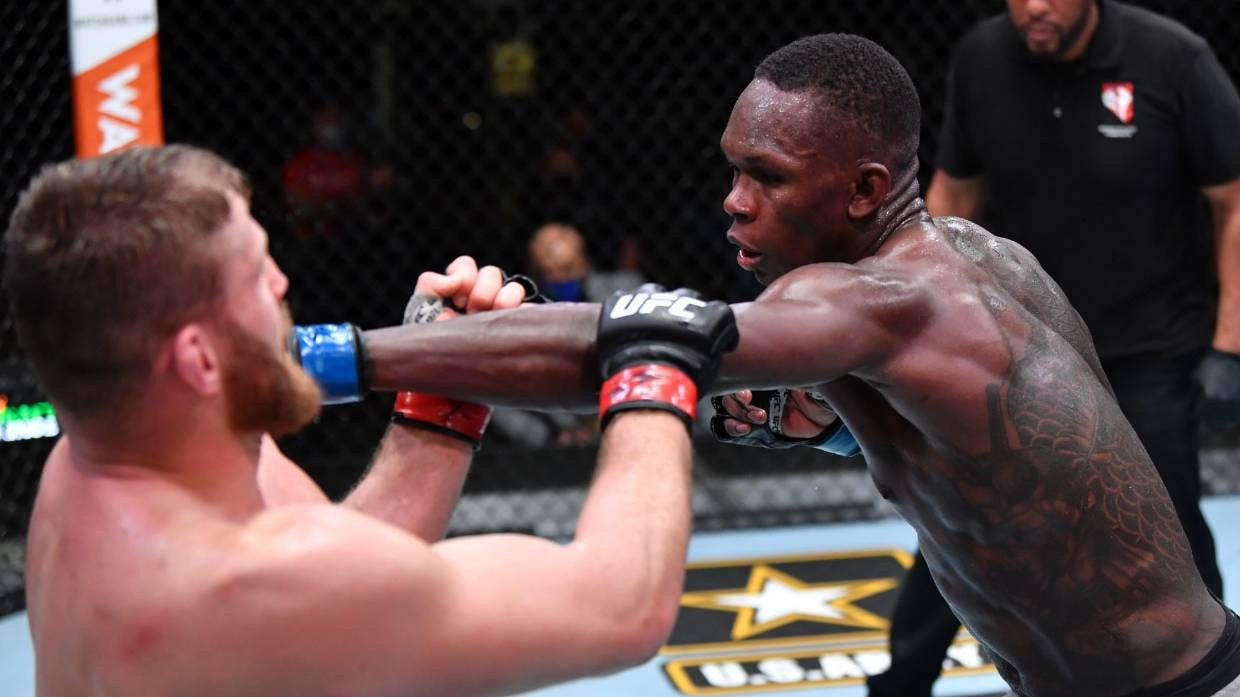 Israel Adesanya, New Zealand-Nigerian Boxer, losses to Jan Blachowicz at UFC 259
