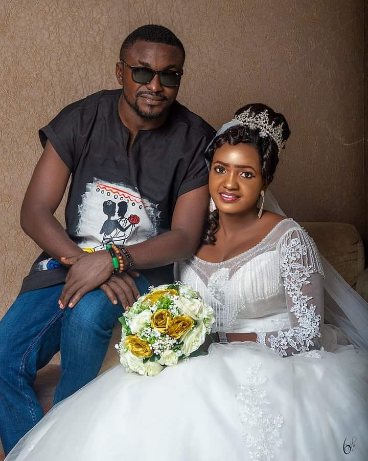 """""""Opinions about my simple outfit does not define how our marriage would be"""" - Nigerian man who wore jeans and Dashiki shirt to his wedding says"""