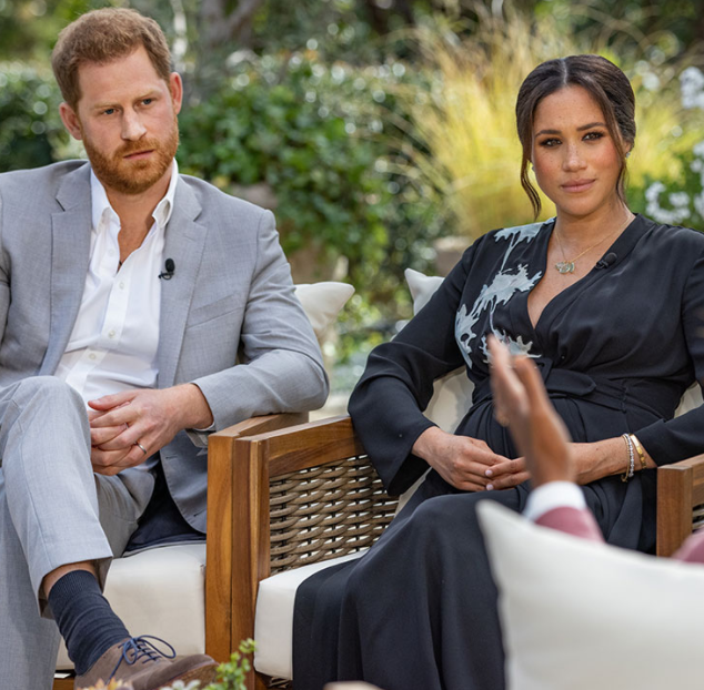 Meghan Markle reacts to reports she made Kate Middleton cry days to her wedding as Prince Harry reveals his family cut him off (video)