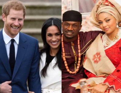 Peter Okoye trends as Nigerians compare him to Prince Harry who is standing up for his wife, Meghan Markle