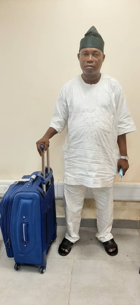 NDLEA nabs notorious drug trafficker with loads of cocaine at Lagos International Airport