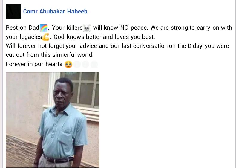 Elderly man shot dead by gunmen in Edo