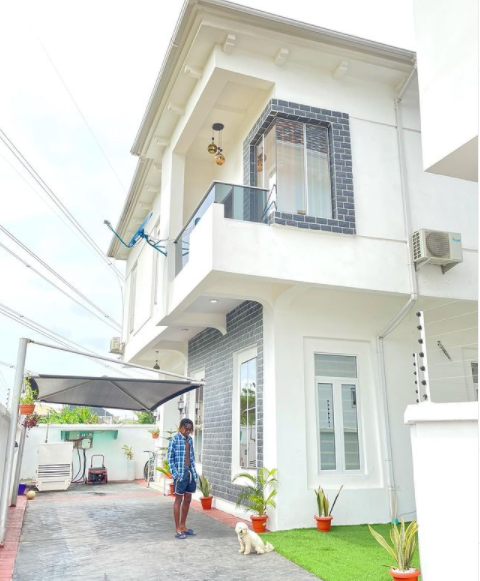 Singer, Fireboy shows off his new house (photo)