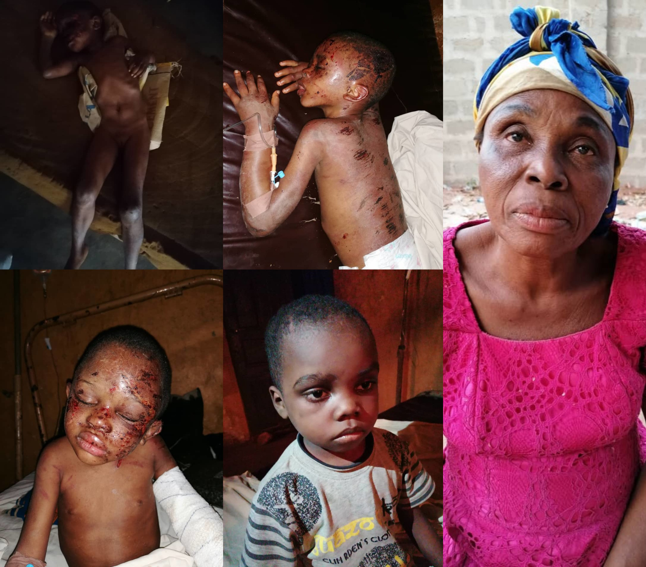 Suspected child trafficker who allegedly sold the bloodied children discovered in Anambra to their captors has been declared wanted by the police (photos)