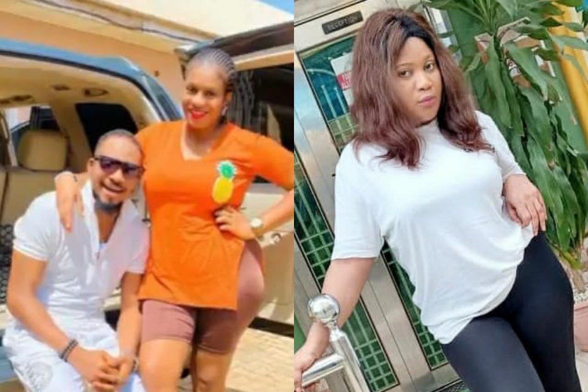 Actress Esther Nwachukwu calls out actor Junior Pope?s wife, Jennifer for blocking her after she tattooed his initials on her body (video)
