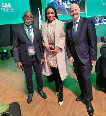 NFF President Amaju Pinnick wins FIFA council seat