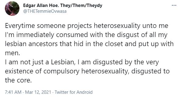 I am not just a lesbian, I