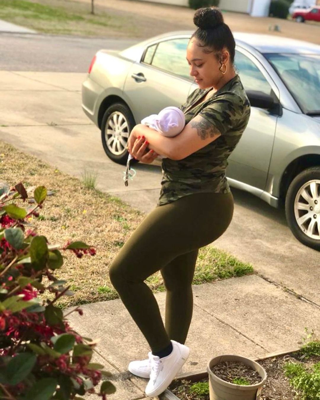 Actress, Rosy Meurer shares first photo of herself and her son