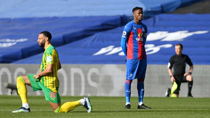 Racism: Footballer Wilfred Zaha becomes first Premier League player to stop  taking the knee since George Floyd protests