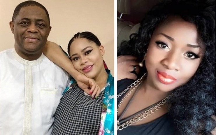 You admitted to me about being naked in the hotel room with a man on the night FFK caught you - FFK