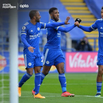 Kelechi Iheanacho scores first hat-trick as Leicester City beat Sheffield United 5-0