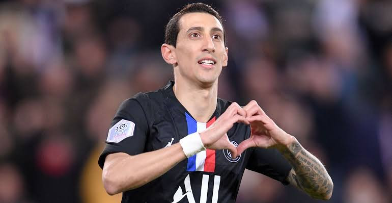 Footballer, Angel Di Maria forced to flee PSG vs Nantes match after learning that robbers broke into his home and attacked his family