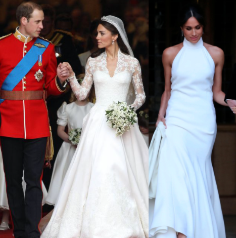 Meghan Markle blogged about Kate Middleton